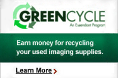 GreenCycle - Earn money for recycling your used imaging supplies