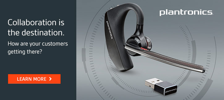 Plantronics -- Collaboration is the destination. How are your customers getting there? -- Learn More