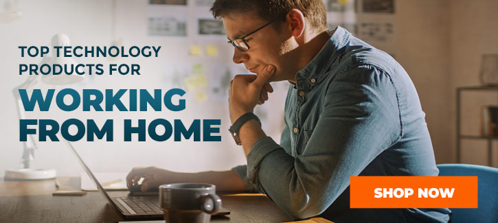 The Top Technology Products for Working from Home - Click to Shop