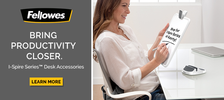Fellowes - Bring Productivity Closer -- I-Spire Series Desk Accessories -- Click to Shop